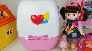 Baby doll cart car play house and magic carrier toys play - ToyMong TV 토이몽