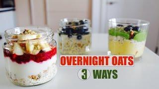 3 Resep Membuat Overnight Oats untuk Sarapan Pagi