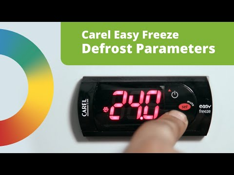 Programming a Carel Easy Freeze Defrost Controller