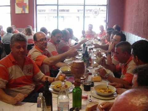 Filá Ligeros Asturianos y Union Musical de Planes en San Martin del Rey Aurelio Asturias