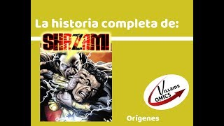 Shazam - Orígenes