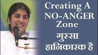 Creating A NO-ANGER Zone: BK Shivani (Hindi)