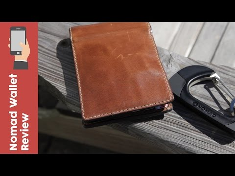Nomad Wallet + Carabiner Review