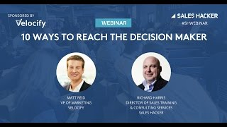 10 Ways to Reach the Decision Maker