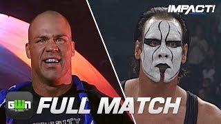 Kurt Angle vs Sting: FULL MATCH (TNA Bound for Glory 2007)   IMPACT Wrestling Full Matches
