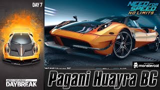 Need For Speed No Limits: Pagani Huayra BC | Daybreak (Day 7 - Crash)