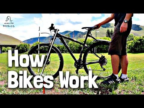Jak funguje rovnováha na kole