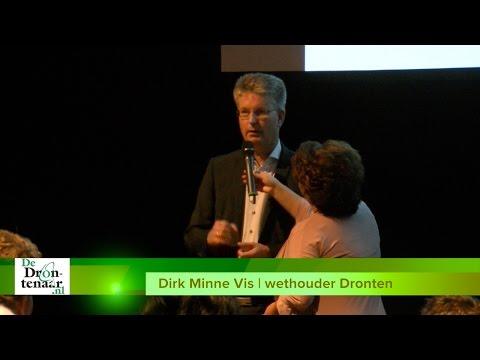 VIDEO | Wethouder Vis juichend over bouw nieuwe bedrijven in Dronten