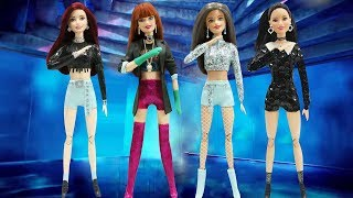 Play Doh BLACKPINK - '뚜두뚜두 (DDU-DU DDU-DU)' Barbie Dolls Inspired Costumes