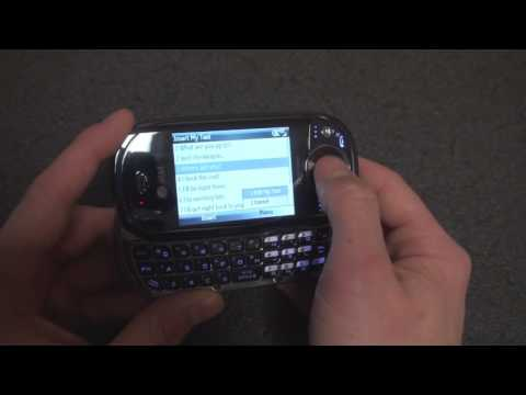 How to Make Custom Pre-Made Text Messages in Windows Mobile | Pocketnow