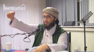 Tafseer of Surah Al-Hujurat (The Dwellings) Part 1/2 - Moutasem Al-Hameedi