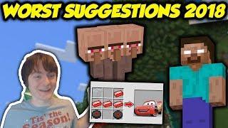 The WORST Minecraft Ideas Of 2018