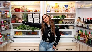 Fridge Tour & What I Eat | All Things Adrienne