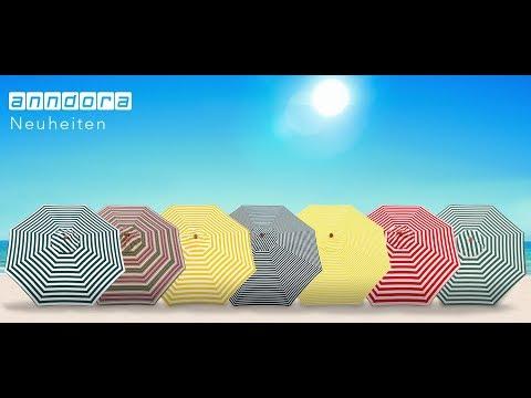 Neuheiten: anndora Sonnenschirm 3m rund - Große Auswahl