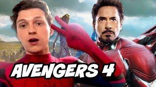 Avengers 4 Spider-Man Far from Home Tom Holland Scene Explained