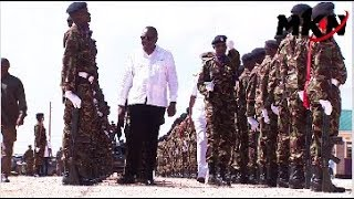 POMP AND COLOUR AS UHURU OPENS MODIKA AIR BASE IN GARISSA!THE LARGEST BASE IN KENYA!