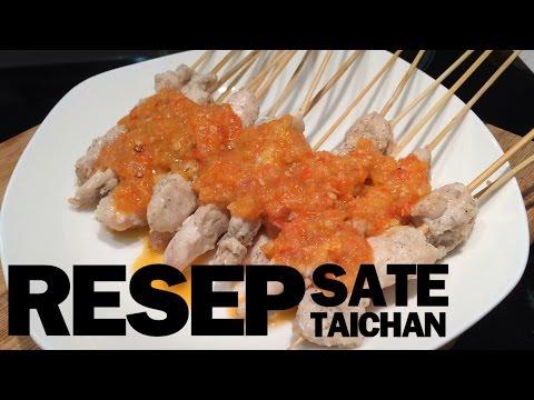 Video Resep dan cara membuat SATE TAICHAN ala Cantikoki
