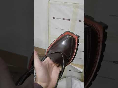 Hand Stitched Brown Quetta Shikari Chappal with Double Sole