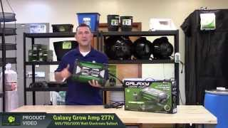 Galaxy Grow Amp 277 Volt Electronic Ballast