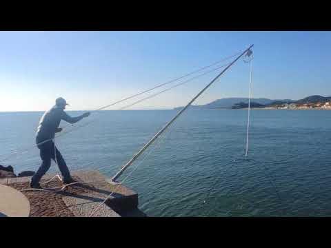 Pesca con la bilancia a Castiglione