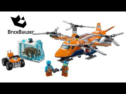 Vidéo LEGO City 60193 : L'hélicoptère arctique