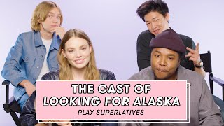The Cast of Looking For Alaska Plays Superlatives | Superlative Challenge