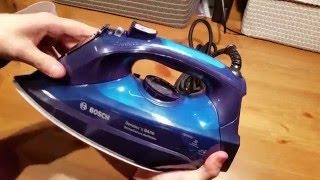 Bosch DA70 TDA703021A żelazko - Rozpakowanie Unboxing Pierwsze Wrażenia | ForumWiedzy
