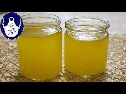 Butterschmalz / geklärte Butter / Ghee, selber zubereiten