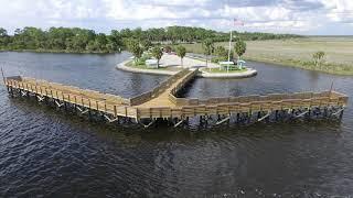 The New Bayport Pier on Florida's Adventure Coast