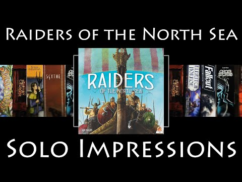 Raiders of the North Sea - Solo Impressions