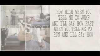 Wait For You Lyric Video - Artist Vs Poet
