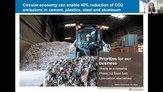 """""""40 billion tonnes"""" challenge at Ethical Corporation's Business Week – Magali Anderson"""