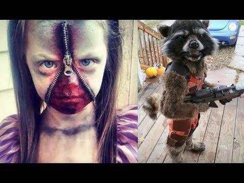Die UNGLAUBLICHSTEN Halloween Kostüme für Kinder