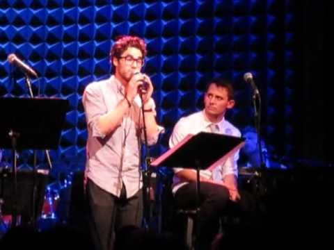 Darren Criss singing Pasek & Paul's