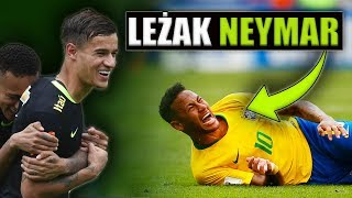 Ile czasu Neymar PRZELEŻAŁ na boisku? Śmieszna i zaskakująca Statystyka