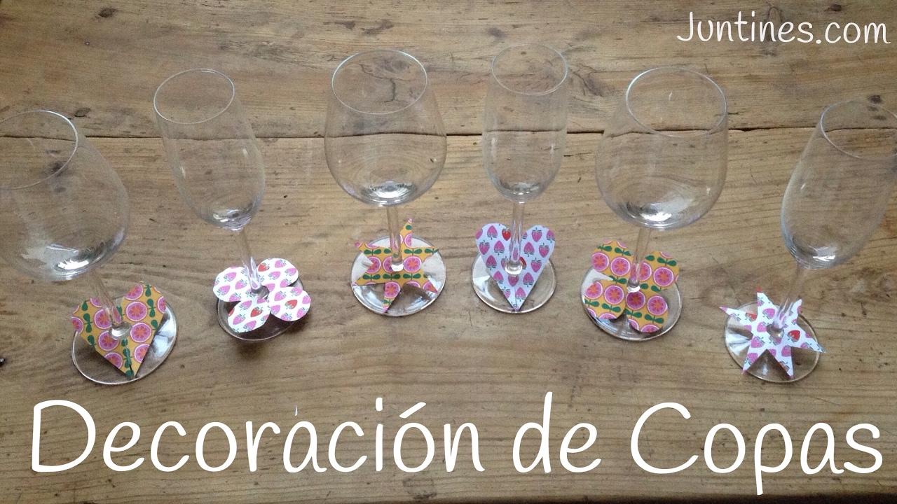 Copas decoradas a mano con papel || MANUALIDADES FÁCILES de hacer en casa