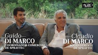 Claudio Di Marco, Socio Gte. y Guido Di Marco, Coord. Comercial - Spraytec