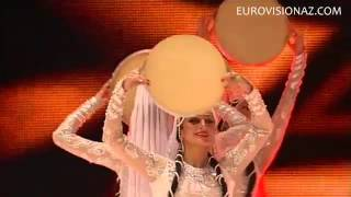"State ensembles Dance of Azerbaijan - ""Dance with tambourines"" (music: Eldar Mansurov)"