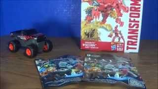 Toy Haul: 8.29.15 (Monster Jam, Transformers, Mega Bloks Halo)