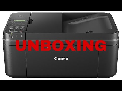 Canon Pixma MX495 - günstiger WIFI & Airprint Drucker # Unboxing Review Deutsch