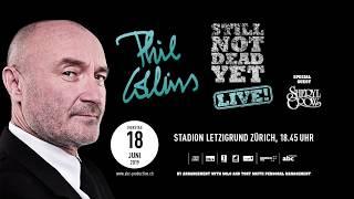 Phill Collins Live Im Stadion Letzigrund Zürich Am 18. Juni 2019