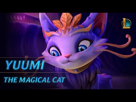 《官方英雄曝光》魔法靈貓 - Yuumi