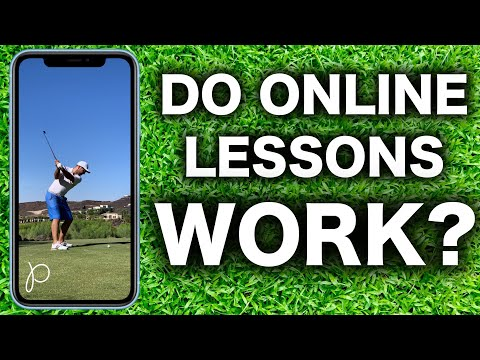 DO ONLINE GOLF LESSONS ACTUALLY WORK?