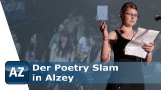 preview picture of video 'Der Poetry Slam in Alzey'