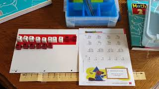 Using Manipulatives with BJU Press Math