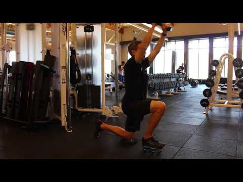 Half Kneeling Cable Rope Tri Pull Down