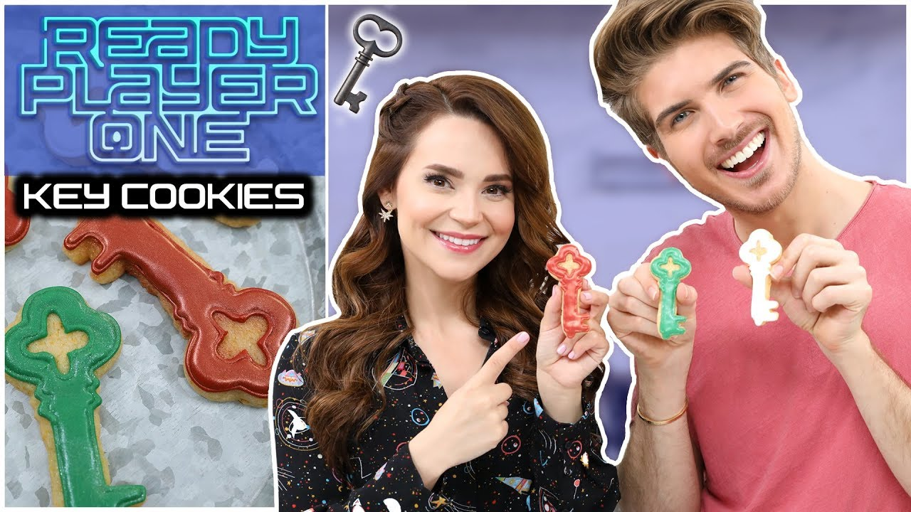 READY PLAYER ONE CEREAL COOKIES ft Joey Graceffa! - NERDY NUMMIES thumbnail