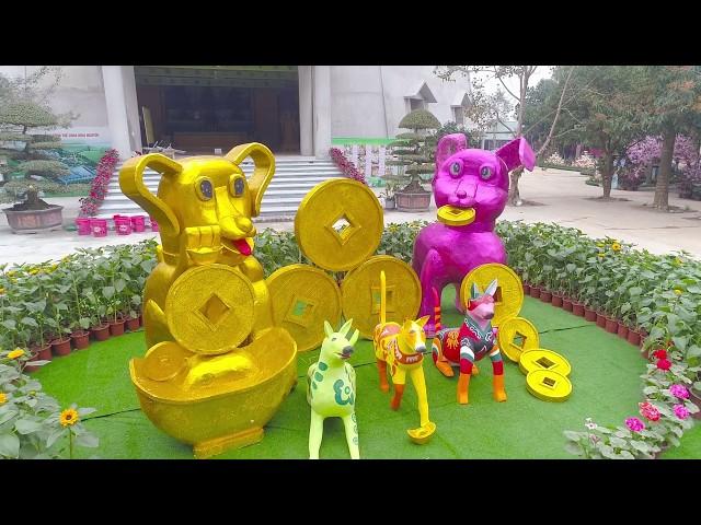 Số 03 Chuân bị lễ hội hoa xuân Mậu Tuất 2018 chùa Khai Nguyên