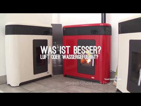 Was ist besser ein luftgeführter Ofen 10kW oder ein wassergeführter Pelletofen 16,5kW? | feuerland24