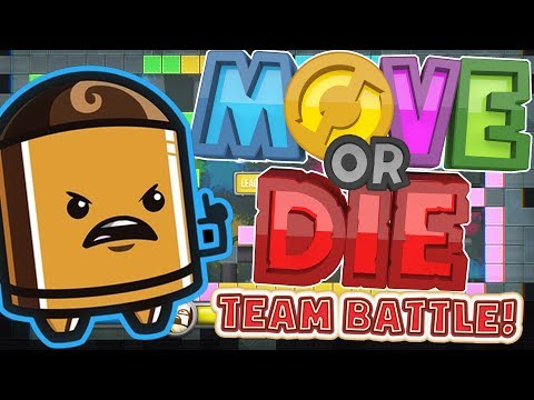 THE ONLY GAME THAT WILL MAKE YOU LOSE FRIENDS!! - MOVE OR DIE! (видео)